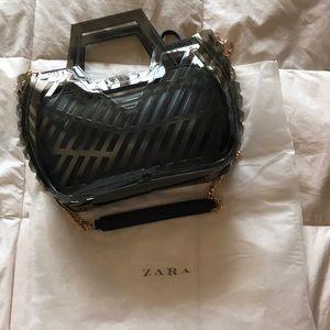 Zara laser cut bag